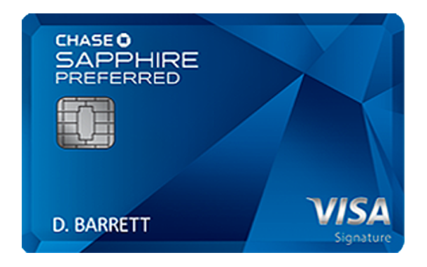 The Chase Sapphire Preferred card is running a sign-up bonus of 60,000 points after spending $4,000 in three months.