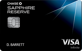 Chase Sapphire Reserve gets 3x on travel purchases