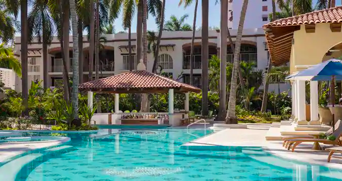 The Hacienda provides an adults-only escape on the western shores of Mexico. Photo by Hilton.
