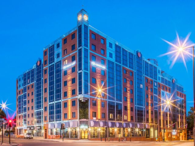 The Crown Plaza Kings Cross in London, which typically goes for more than $200 per night, can be redeemed for free with the IHG hotel credit card free night.
