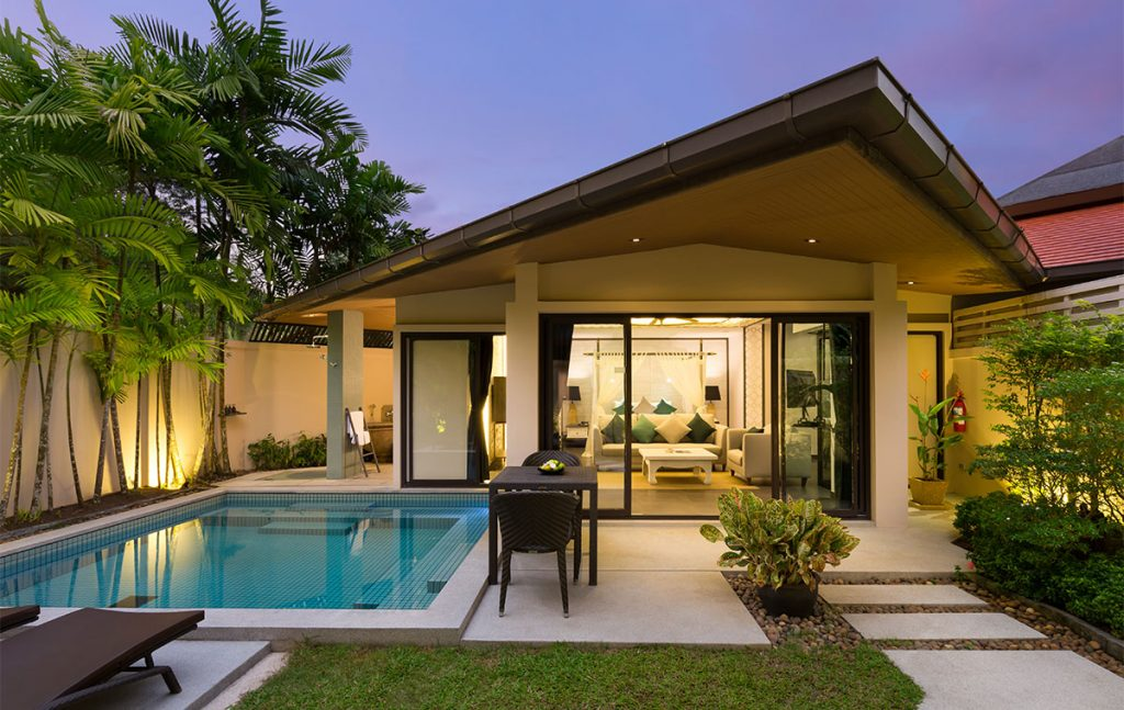 Our room at Dew Phuket Resort will have a private plunge pool. Photo by Dewa Phuket Resort.