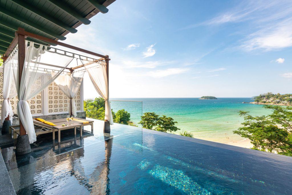 The Seaview Pool Villa at The Shore at Katathani has spectacular views of the Andaman Sea. Planning a trip to Thailand had to include a hotel like this one!