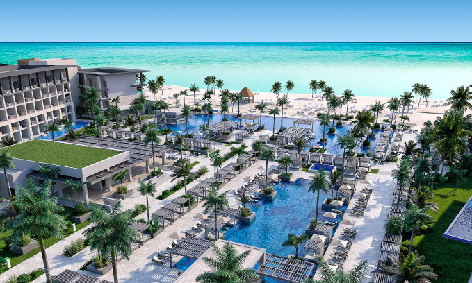 The Hyatt all-inclusive hotels in Cap Cana will have massive pools on the grounds of each property. Photo by Hyatt.