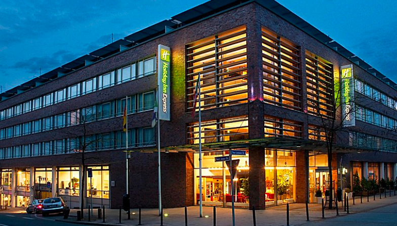 Travelers can get a huge discount when using IHG PointBreaks to book the Holiday Inn Express in Essen, Germany. Photo by IHG.