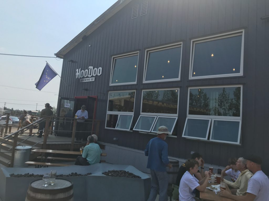 HooDoo Brewing in Fairbanks was one of the highlights of my trip to Alaska.