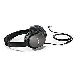 Purchasing a set of Bose QuietComfort 25 Acoustic Noise Cancelling Headphones will make you feel like you're flying in first class.