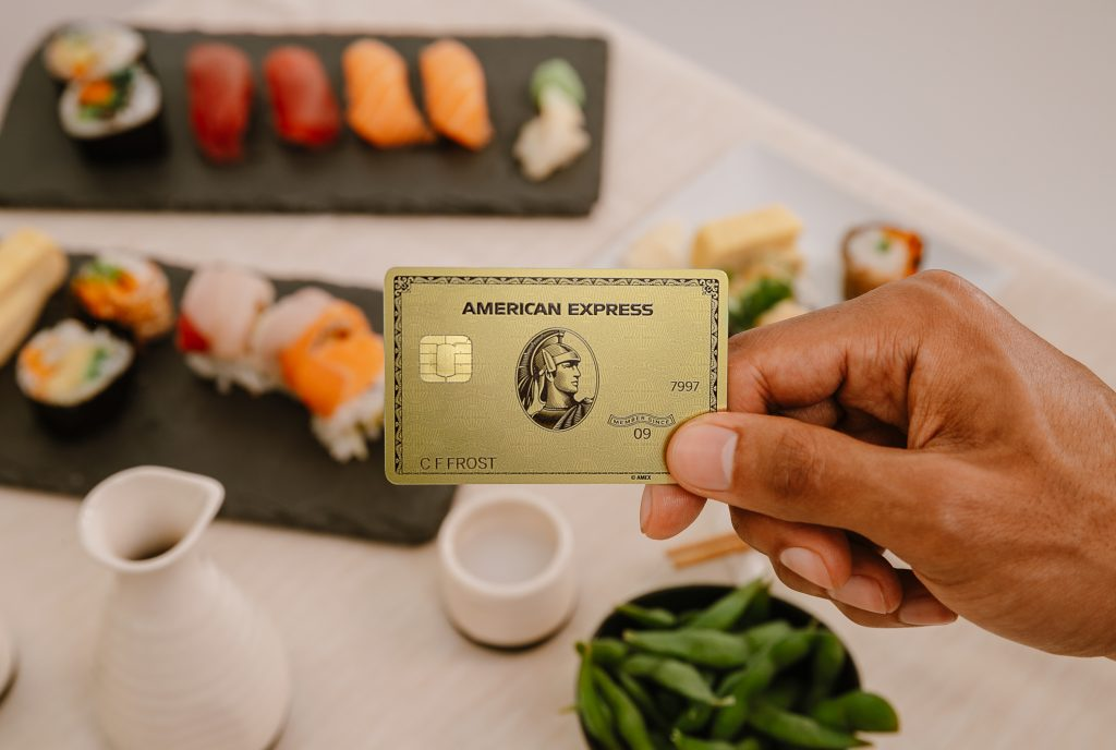 Cardholders of the American Express Gold Card can earn 4x Membership Rewards at worldwide restaurants. Photo by American Express.