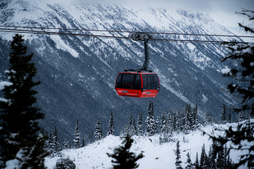 I've always wanted to take a ski trip to Whistler, BC.
